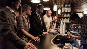 Fuglen kaffebar Tokyo - med næringsminister