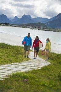 Strand på Ramberg i Lofoten, foto: CH visitnorway.no