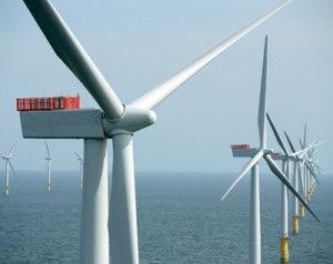 Sheringham Shoal vindmøller til havs