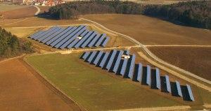 Bilde fra Scatec Solars anlegg ved Neumarkt (foto: Scatec Solar)