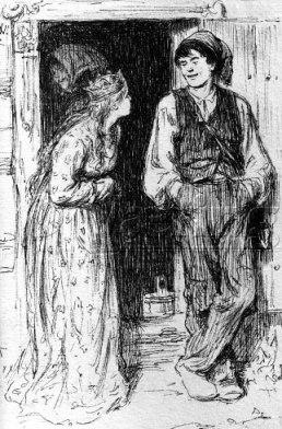 Askeladden og prinsessa ved Werenskiold