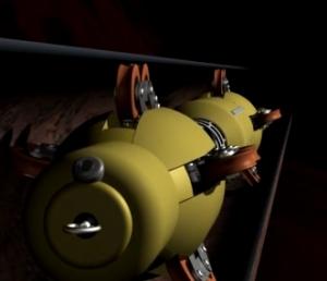 Robot for undersøkelse av rør-