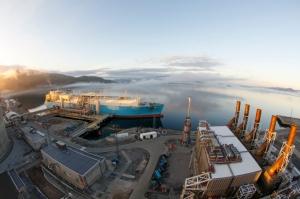 LNG tanker (foto: Ole-Gunnar Rasmussen)