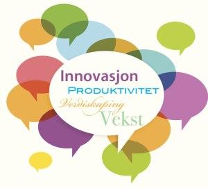 Ordsky om innovasjon og verdiskaping