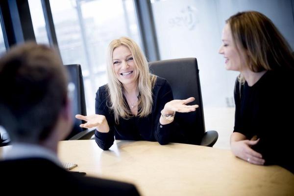 Adm dirLyse,Toril Nag, og HR dir Marita Nesvik, er et godt eksempel på strategisk samarbeid gjennom mange år.