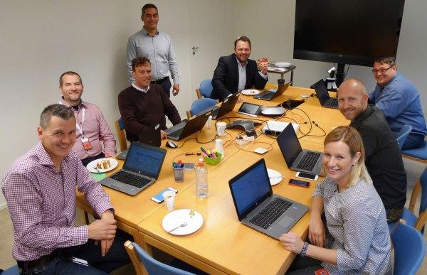 IT-gjengen i Innovasjon Norge (foto: Anders Vinnogg)