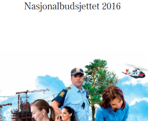 Forsiden av publikasjon - Nasjonalbudsjett 2016