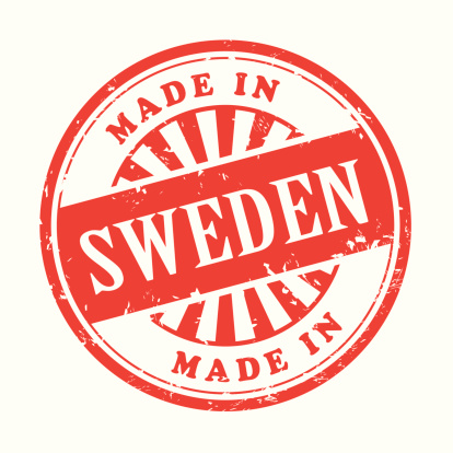 Stempel Made in Sweden