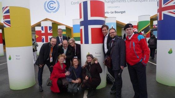 Norske aktører fronter norsk teknologi og bærekraft i Paris.