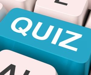 Tast med ordet quiz